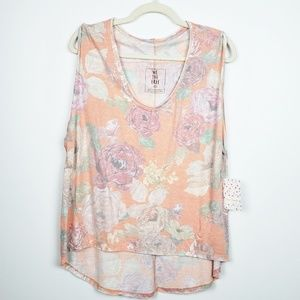 We the Free by Free People | Floral Oversized Tank